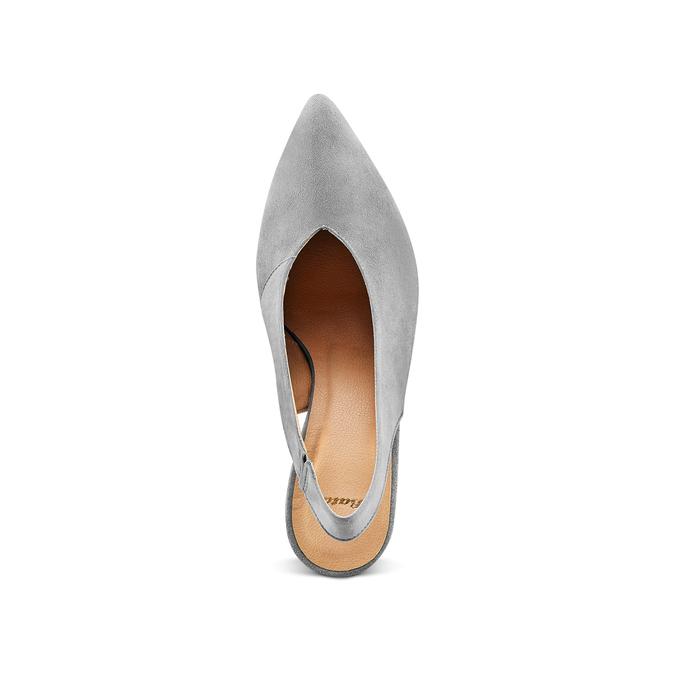 Women's shoes bata, Gris, 723-2248 - 17