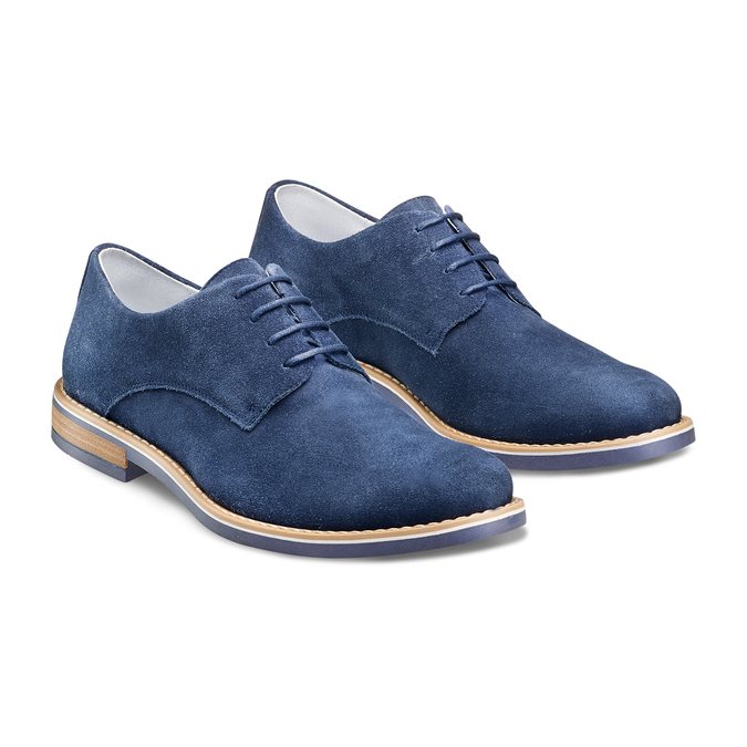 Men's shoes bata, Bleu, 823-9307 - 16