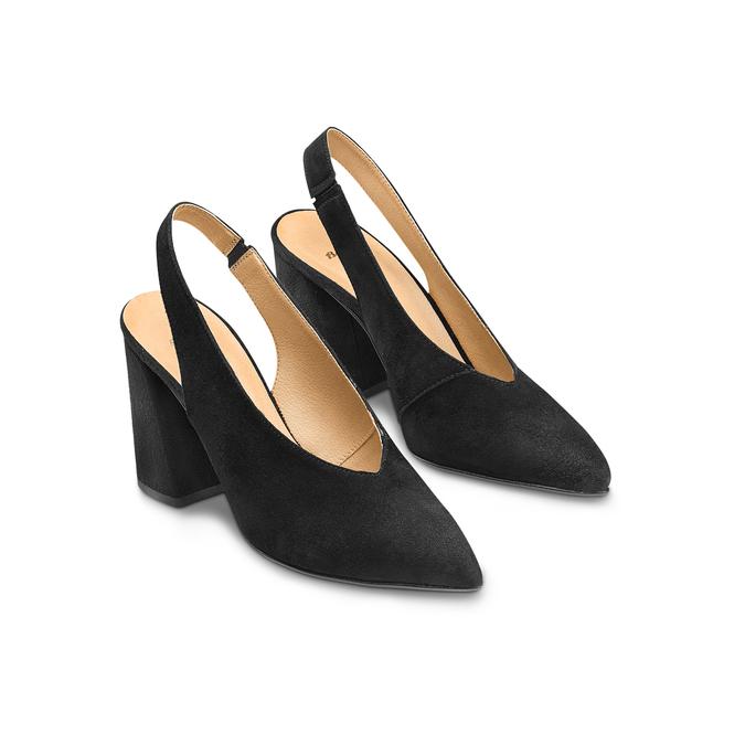 Women's shoes bata, Noir, 723-6248 - 16
