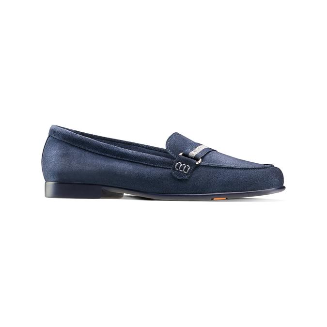 Women's shoes flexible, Bleu, 513-9150 - 13