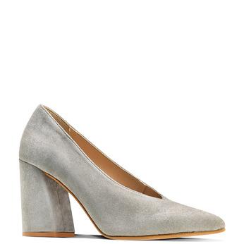 Women's shoes bata, Gris, 723-2239 - 13