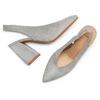 Women's shoes bata, Gris, 723-2248 - 26