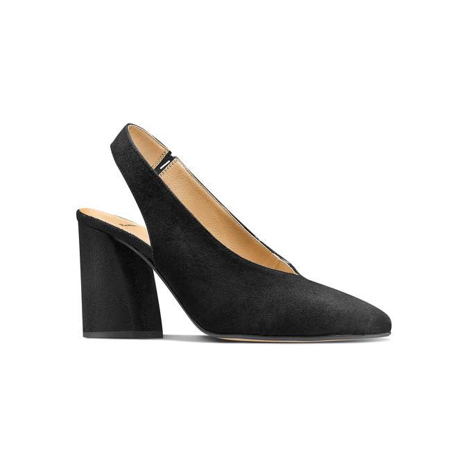 Women's shoes bata, Noir, 723-6248 - 13
