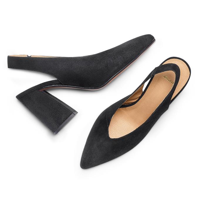 Women's shoes bata, Noir, 723-6248 - 26