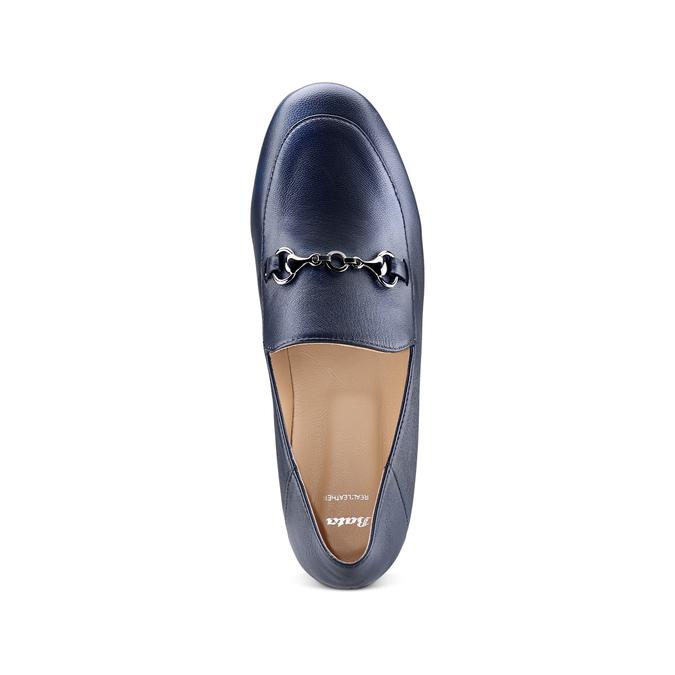 Women's shoes bata, Bleu, 514-9170 - 17