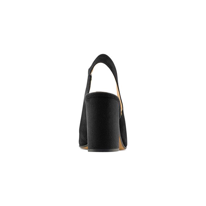 Women's shoes bata, Noir, 723-6248 - 15