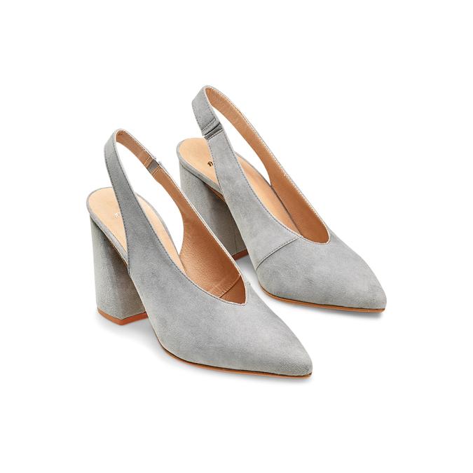 Women's shoes bata, Gris, 723-2248 - 16