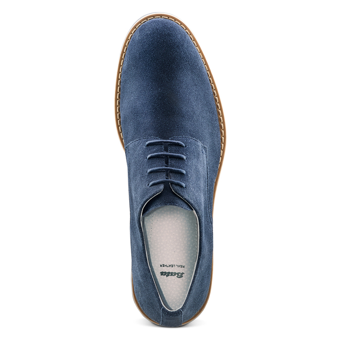 Men's shoes bata, Bleu, 823-9307 - 17