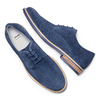 Men's shoes bata, Bleu, 823-9307 - 26