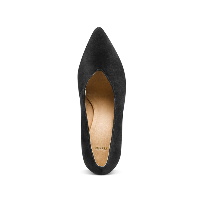 Women's shoes bata, Noir, 723-6239 - 17
