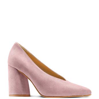 Women's shoes bata, Rouge, 723-5239 - 13
