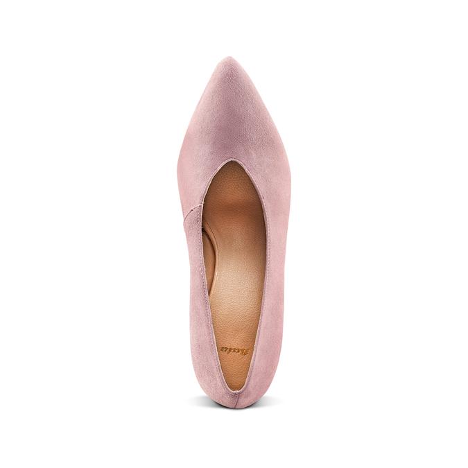 Women's shoes bata, Rouge, 723-5239 - 17
