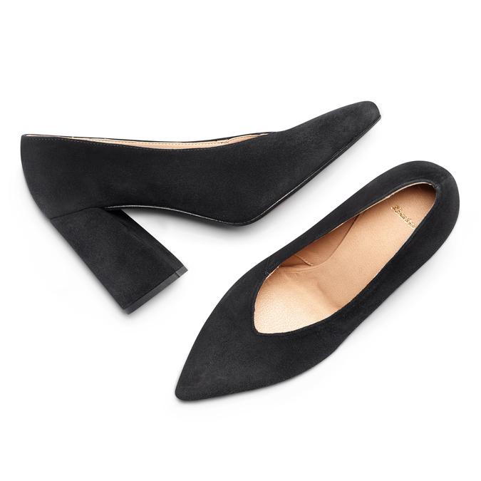 Women's shoes bata, Noir, 723-6239 - 26