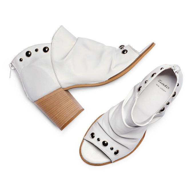 Women's shoes bata, Gris, 724-2192 - 26