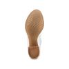 Women's shoes bata, Gris, 724-2192 - 19