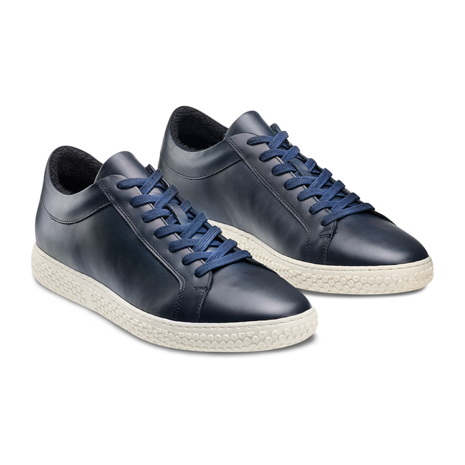 Men's shoes bata, Bleu, 844-9137 - 16