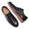 Men's shoes bata-light, Noir, 824-6363 - 26