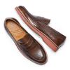 Men's shoes bata-light, Brun, 814-4109 - 26