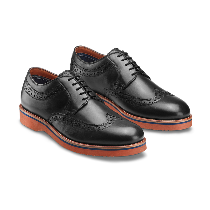 Men's shoes bata-light, Noir, 824-6363 - 16