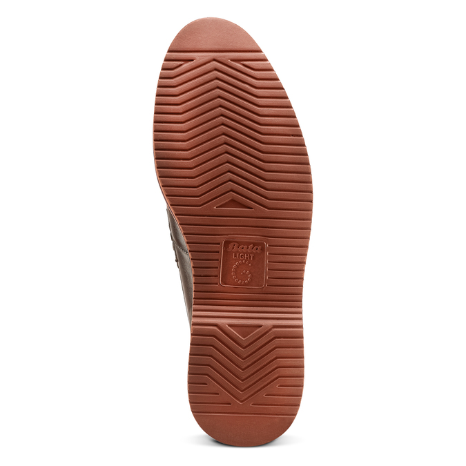 Men's shoes bata-light, Brun, 814-4109 - 19