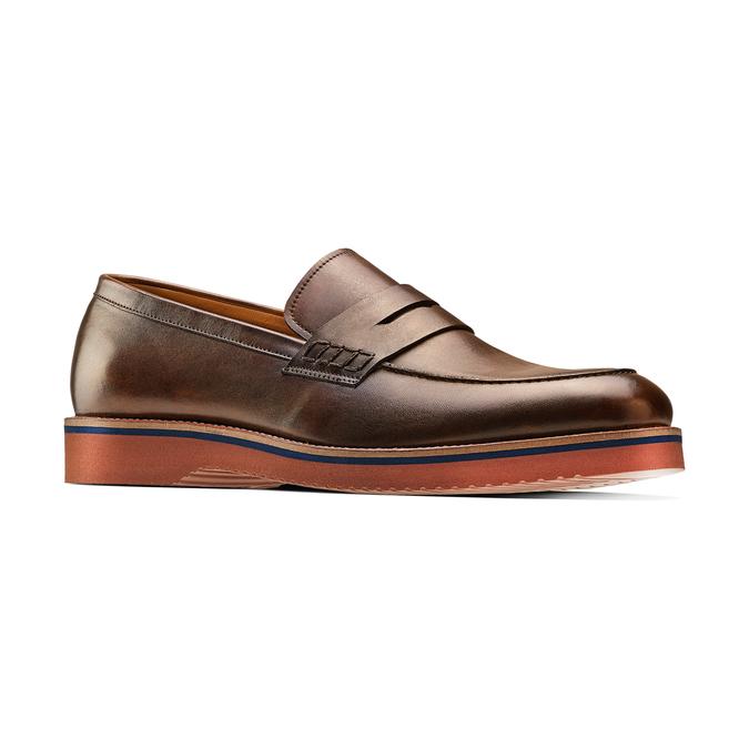 Men's shoes bata-light, Brun, 814-4109 - 13
