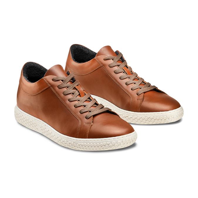 Men's shoes bata, Brun, 844-3137 - 16