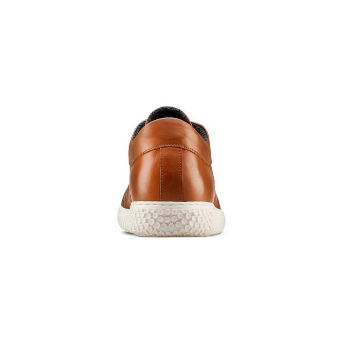 Men's shoes bata, Brun, 844-3137 - 15