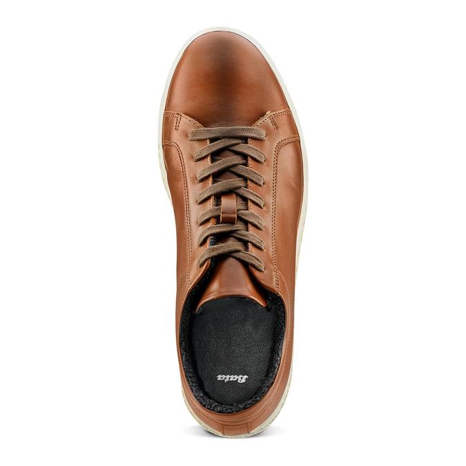 Men's shoes bata, Brun, 844-3137 - 17