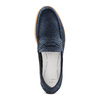 Men's shoes bata, Bleu, 853-9143 - 17