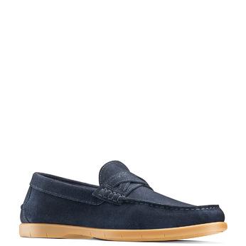 Men's shoes bata, Bleu, 853-9143 - 13