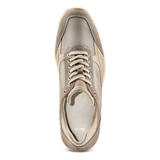 Men's shoes bata, Jaune, 849-8162 - 17