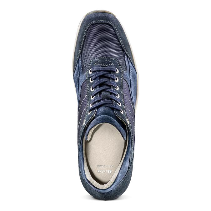 Men's shoes bata, Bleu, 849-9162 - 17