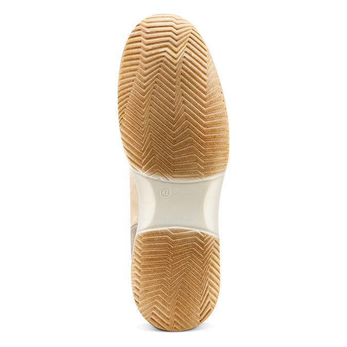 Men's shoes bata, Jaune, 849-8162 - 19
