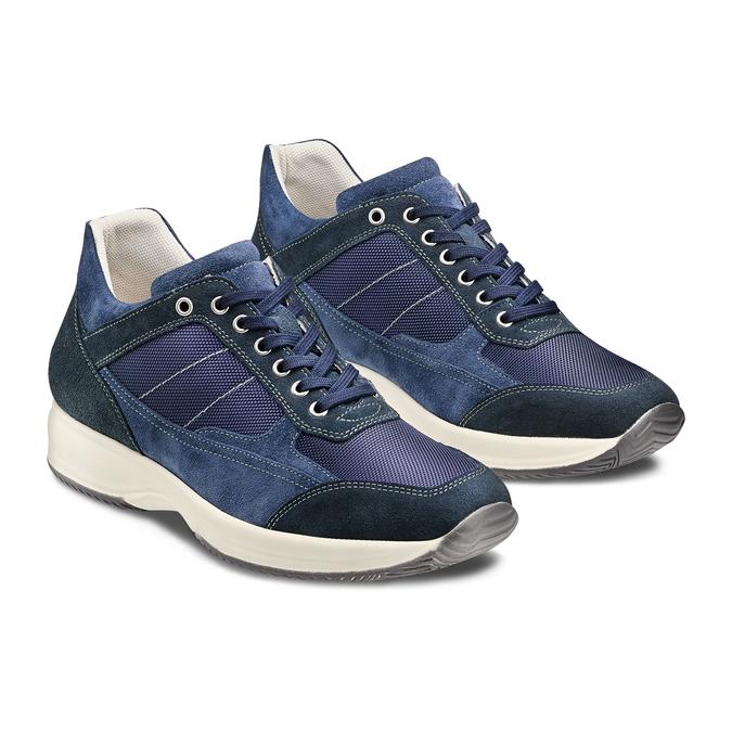 Men's shoes bata, Bleu, 849-9162 - 16