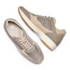 Men's shoes bata, Jaune, 849-8162 - 26