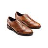 Chaussure en cuir pour femme dans le style Oxford bata, Brun, 524-3214 - 16