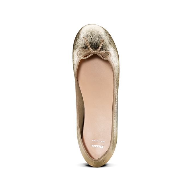 Women's shoes bata, Jaune, 524-8254 - 17