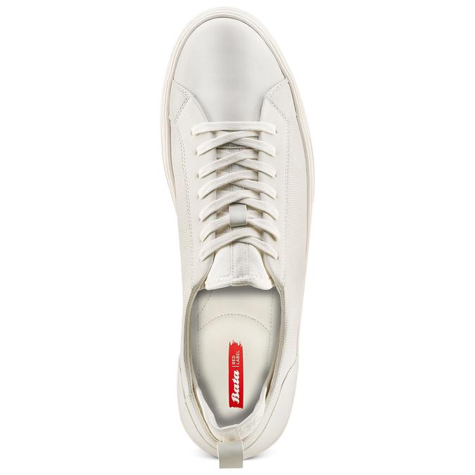 Men's shoes bata-rl, Blanc, 841-1374 - 17