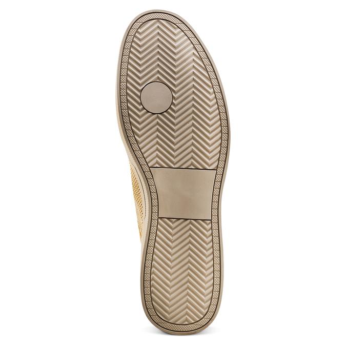 Men's shoes bata-rl, Jaune, 839-8144 - 19