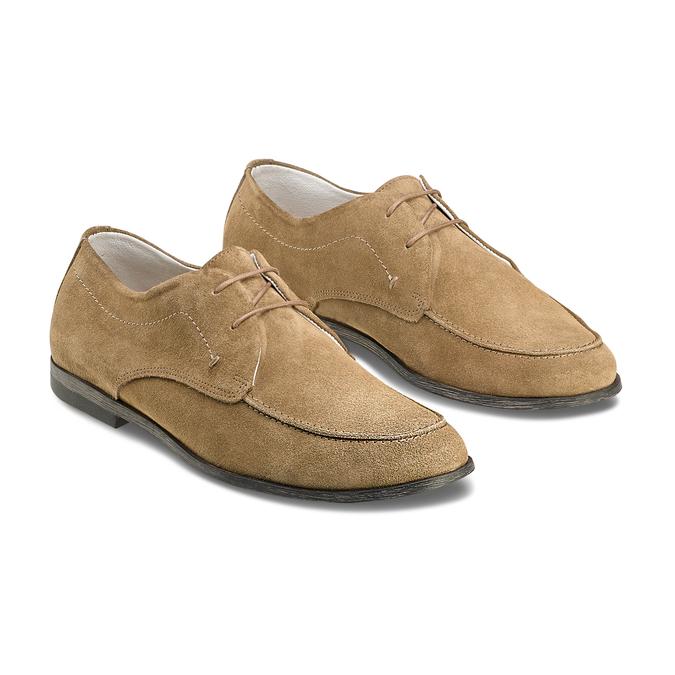Men's shoes bata, Gris, 853-2160 - 16