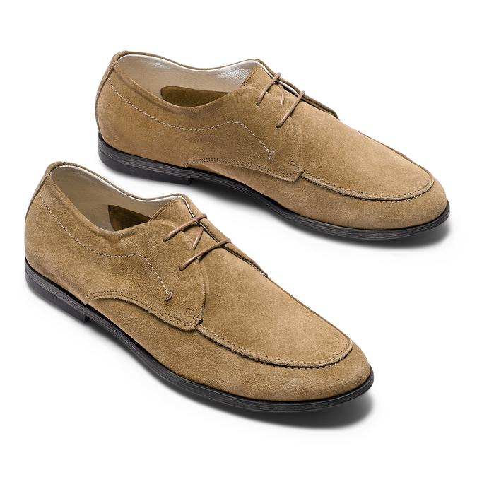 Men's shoes bata, Gris, 853-2160 - 26