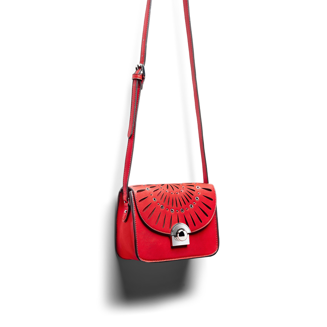 Bag bata, Rouge, 961-5219 - 17