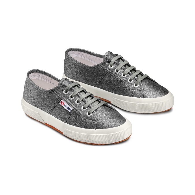 Women's shoes superga, Gris, 589-2487 - 16