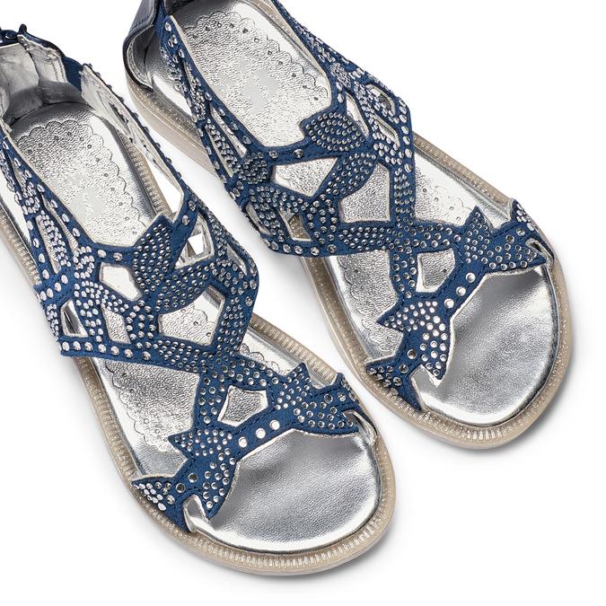 Childrens shoes mini-b, Bleu, 363-9247 - 26