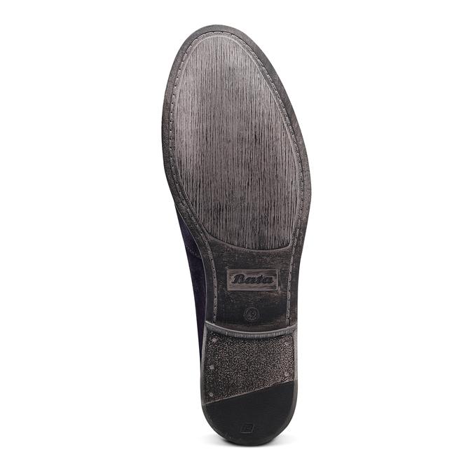 Men's shoes bata, Bleu, 853-9129 - 19