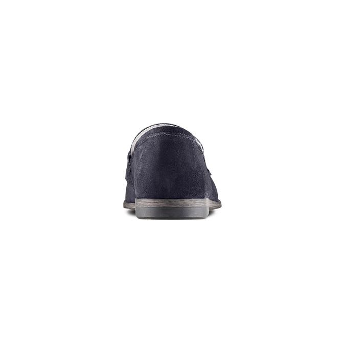 Men's shoes bata, Bleu, 853-9129 - 15