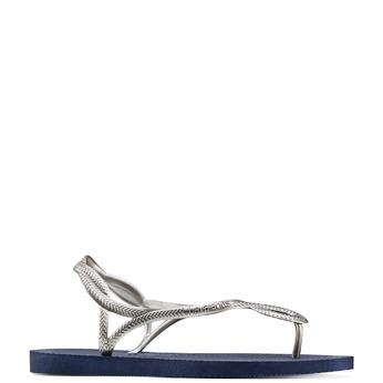 Women's shoes havaianas, Gris, 572-1352 - 13