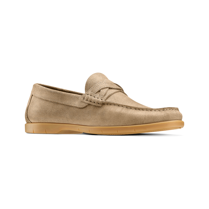 Men's shoes bata, Jaune, 853-8143 - 13