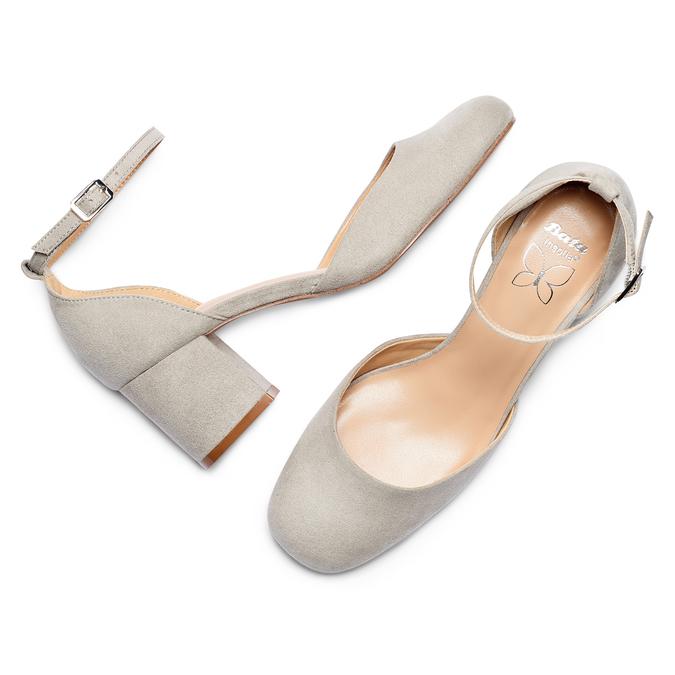 Women's shoes insolia, Gris, 729-2208 - 26