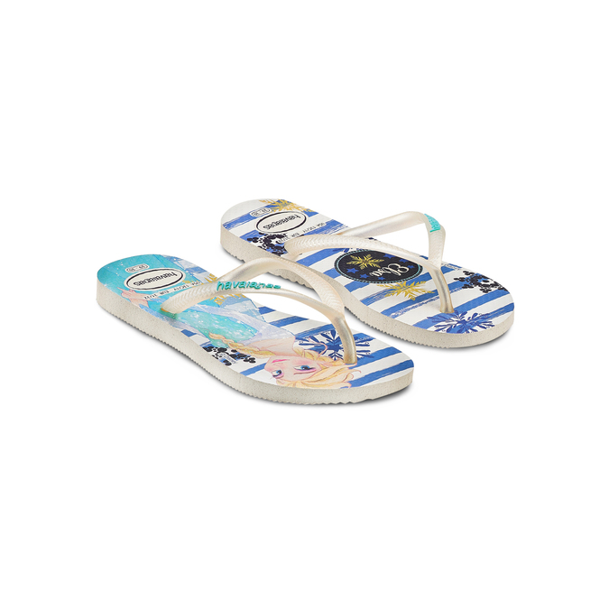 Childrens shoes havaianas, Violet, 372-1229 - 16